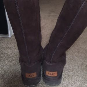 Tall Chocolate Brown Authentic Ugg Boots